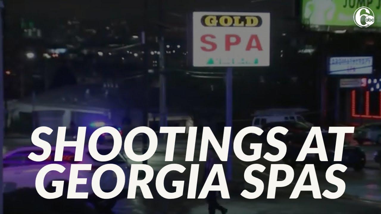 Atlanta spa shootings: Eight dead in 3 shootings; 1 suspect in ...