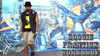 Boogie Frantick Workshop Promo | Sept. 21, 2013 | Cyphers: Phoenix, AZ | Step x Step