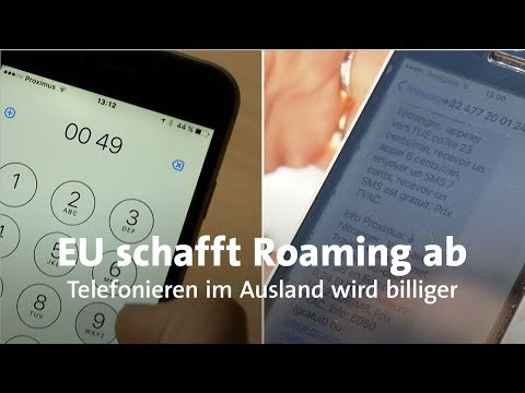 Billiger Telefonieren: Roamingkosten Im Ausland Fallen Weg