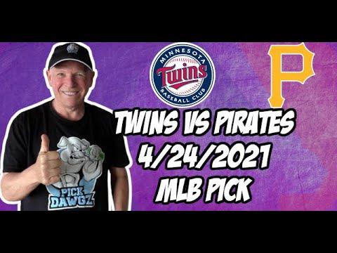 Minnesota Twins vs Pittsburgh Pirates 4/24/21 MLB Pick and Prediction MLB Tips Betting Pick