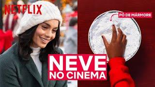 Como é feita a neve no cinema? | Netflix Brasil