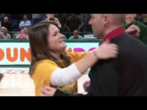 Thumbnail: Siena Fan Hits Halfcourt Shot Then Gets Proposed To