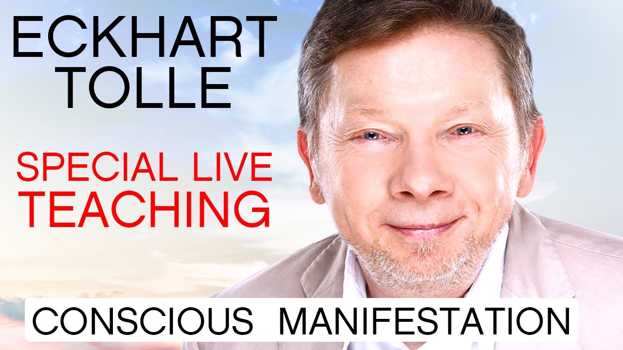 Download Eckhart Tolle Special Live Teaching | Conscious Manifestation