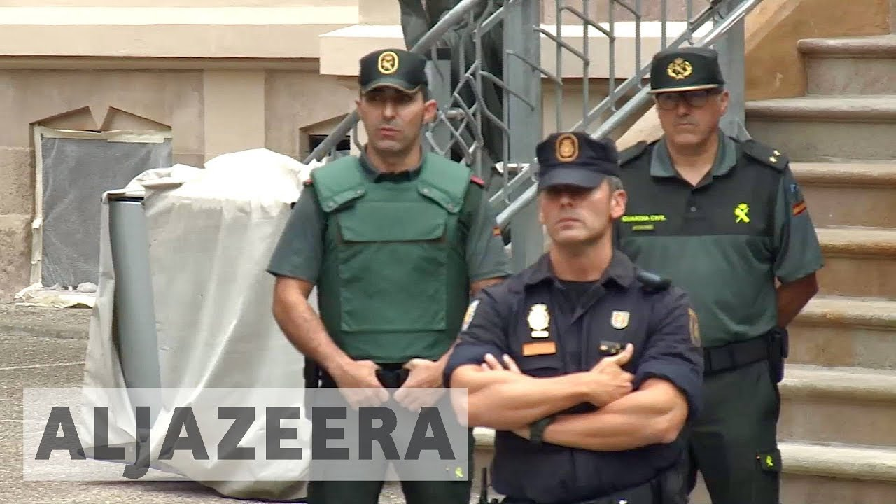 Spain sends in police reinforcement in run-up to Catalonia vote