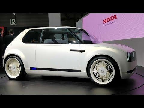 Honda Urban EV Concept - Retro Hot Hatch - Live | MotorBeam