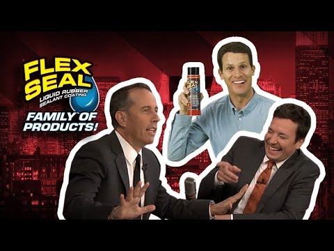 Celebrities LOVE The Flex Seal® Family of Products!
