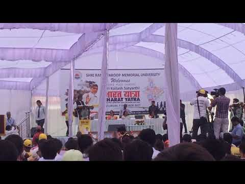 Dr. Kailash satyarthi at lucknow