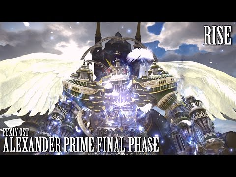 FFXIV OST Alexander Prime Final Phase +Timestops ( Rise )