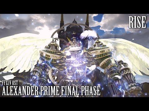 FFXIV OST Alexander Prime Final Phase +Timestops ( Rise )