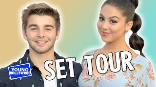 "Set Tour of Nickelodeon's ""The Thundermans"" with the Cast!"