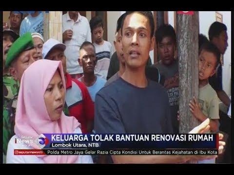 Keluarga Lalu Muhammadd Zohri Tolak Bantuan Renovasi Rumah, Ini Alasannya - SIM 13/07