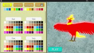 Roblox - Feather Family (Update Raven, New Phoenix Egg Skin)