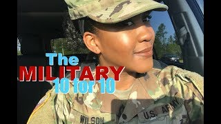 Military 10 for 10 : Eps.#| THE CONS OF BEING IN THE MILITARY