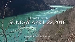 Niagara Glen Trail....Claire and I went for a hike