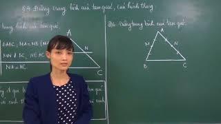 Toán 8: Đường trung bình của tam giác