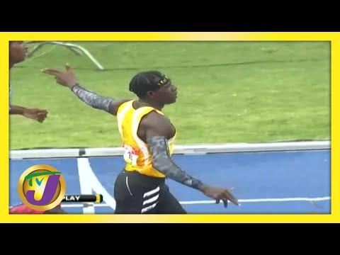 Antonio Watson - Gun Gesture at Champs 2021 | TVJ Sports Commentary