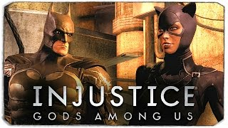 INJUSTICE: GODS AMONG US. Бэтмен VS Женщина-Кошка!