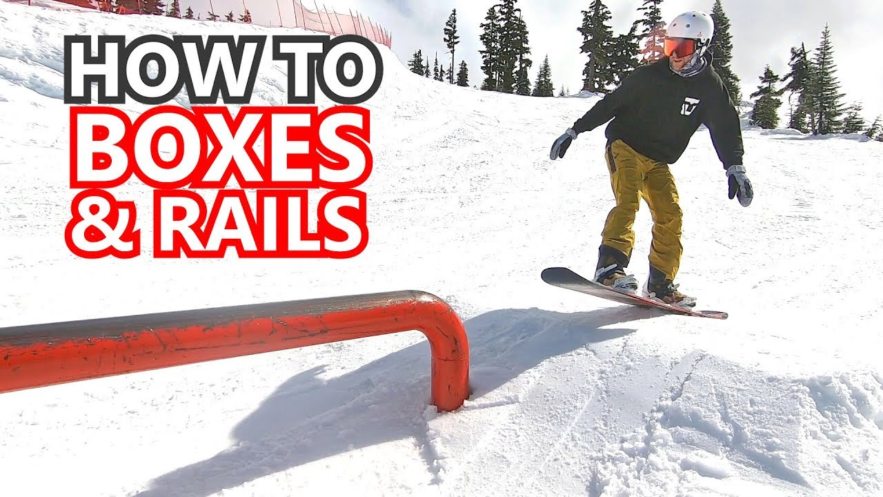 c75115c9bb96 How To Ride Long Boxes   Rails - Snowboard Tips - YouTube