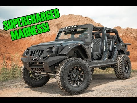 Fully Built Jeep Wrangler Rubicon Unlimited Keystone