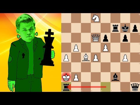 World Champion Magnus Carlsen playing bullet chess | Lichess Titled Arena 5