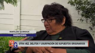 Video: INFORME 53G - Delitos y usurpación de supuestos originarios