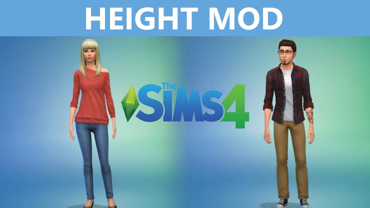 The Sims 4 Mod: Height Slider and Shorter Teens - Sims Online