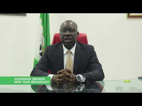 Governor Godwin Obaseki's 2018 New Year's Day Broadcast