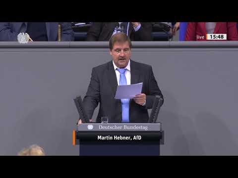 """Bundestag. """"Sie benutzen die Hassrede, von der Mitte bis ganz LINKS."""" Martin Hebner AfD 06.11.2019"""