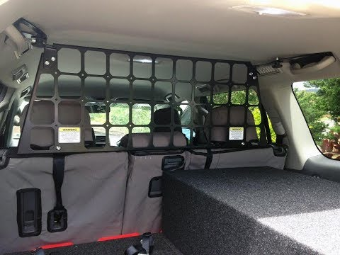 Toyota Prado 150 Light Cargo Barrier Youtube