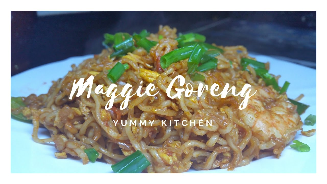 Maggie Goreng Recipe