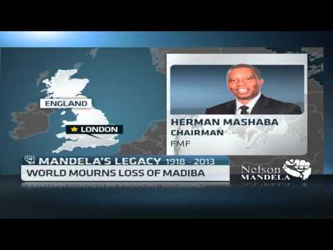 Herman Mashaba remembers the iconic Nelson Mandela