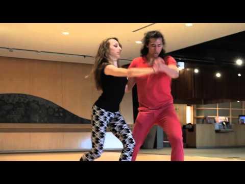 Michael Demski & Anya Zoukeira, Improvisation. Zouk Soul @ Canada Zouk Congress 2015.