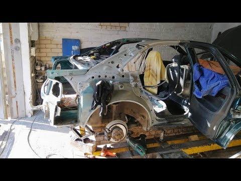 Audi A4.  Удаление лишнего. Почти кабриолет 😁