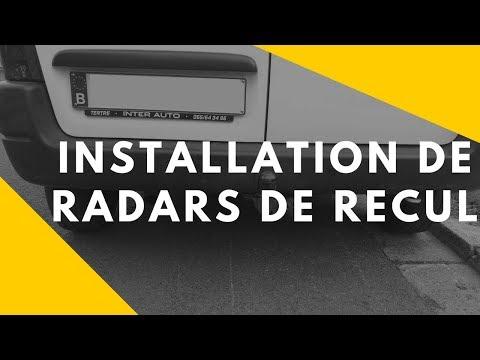 Installation radar de recul sur Peugeot Partner et Citroen Berlingo
