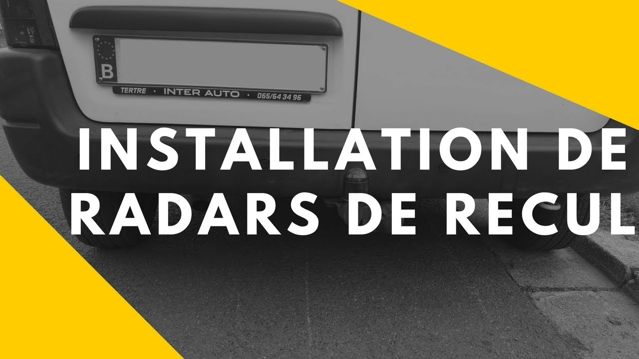 installation radar de recul sur peugeot partner et citroen berlingo youtube. Black Bedroom Furniture Sets. Home Design Ideas