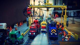 Lego Trains/Monorail RC Gantry Crane
