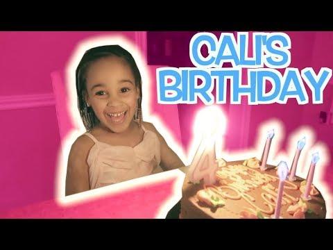 PRINCESS CALI'S BIRTHDAY!