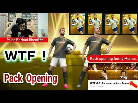 Legends European National Teams Pack Opening With Funny Memes