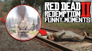 RED DEAD REDEMPTION II FUNNY MOMENTS!!