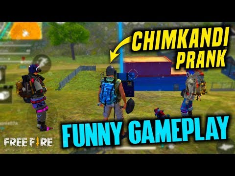 Best Chimkandi Noob Player Prank - Garena Free Fire- Total Gaming