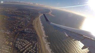 Jetblue A321 Beautiful Morning Takeoff from New York JFK- Great Views!