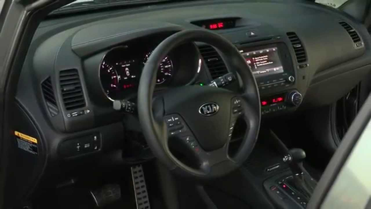 Kia Forte Hatchback >> 2016 Kia Forte 5 Interior Design | AutoMotoTV - YouTube