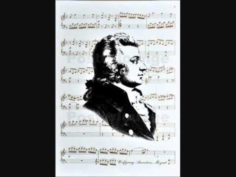 """W. A. MOZART """" Symphony No. 29   A  Major (1774)"""
