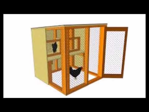 Building Of Poultry House - How To Build A Free Range Chicken Coop