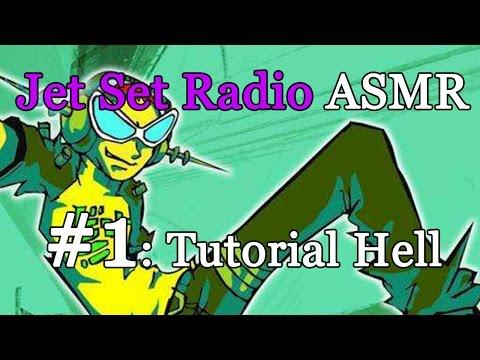 Jet Set Radio ASMR #1: The tutorial level.