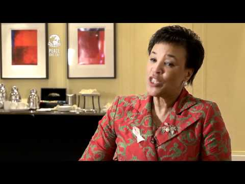 Baroness Scotland backstage interview at 'Reducing Domestic Violence' launch