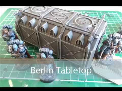 How to paint Monitorum Armoured Containers