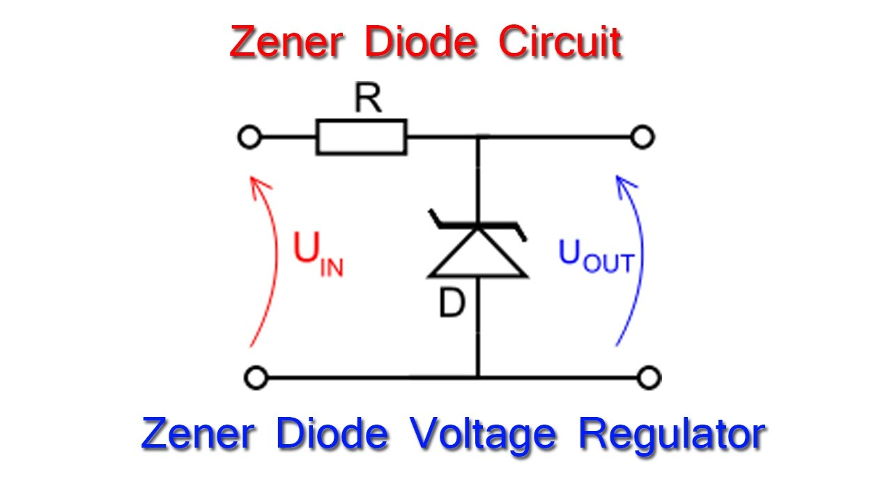 zener diode zener diode as voltage regulator in electric circuit rh youtube com zener diode connection diagram zener diode connection diagram