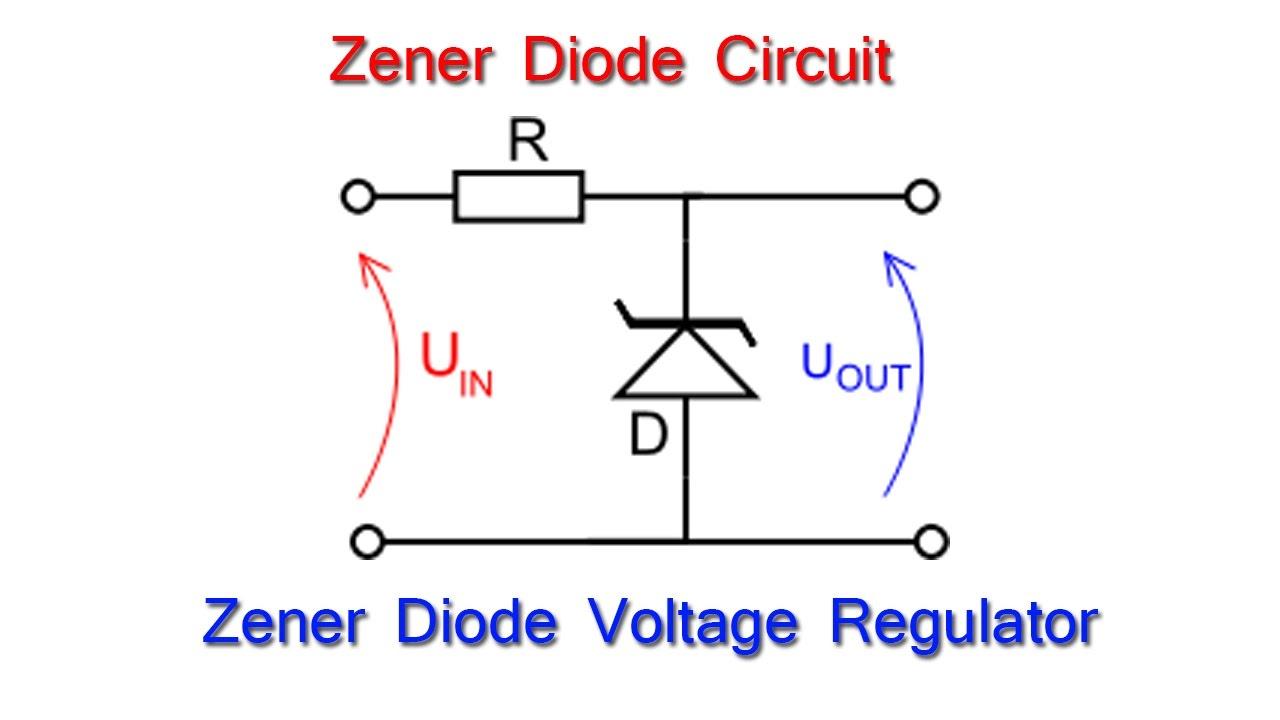 zener diode voltage regulator circuit diagram
