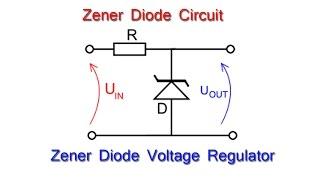 Zener Diode: - Zener Diode  as Voltage Regulator in electric circuit